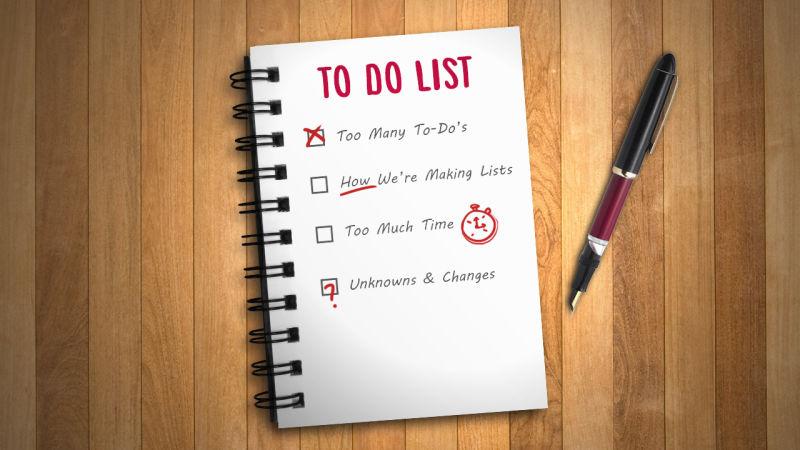aprenda a listar suas tarefas
